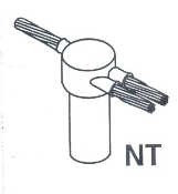 *NT1 - Cadweld One-Shot Cable to Ground Rod
